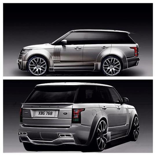 Onyx Concept s'attaque aussi au nouveau Range Rover