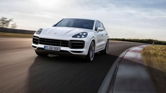 Salon de Francfort 2017 : Porsche dévoile le Cayenne Turbo