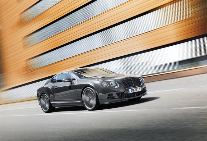 Toutes les nouveautés du salon de Genève 2014 - Bentley Continental GT Speed et Flying Spur V8