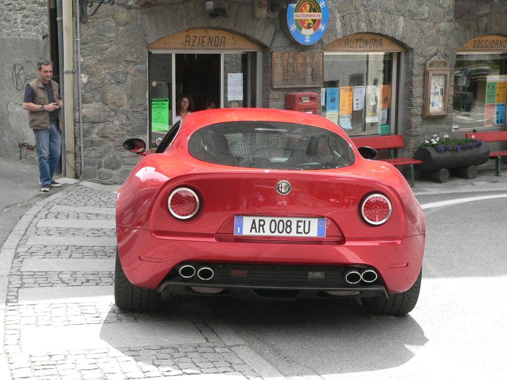 Alfa Romeo 8C Competizione de