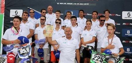 Motocross: deux titres mondiaux pour les jeunes français