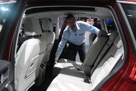 J'aime les aspects pratiques et la modularité de cette Golf Sportsvan.