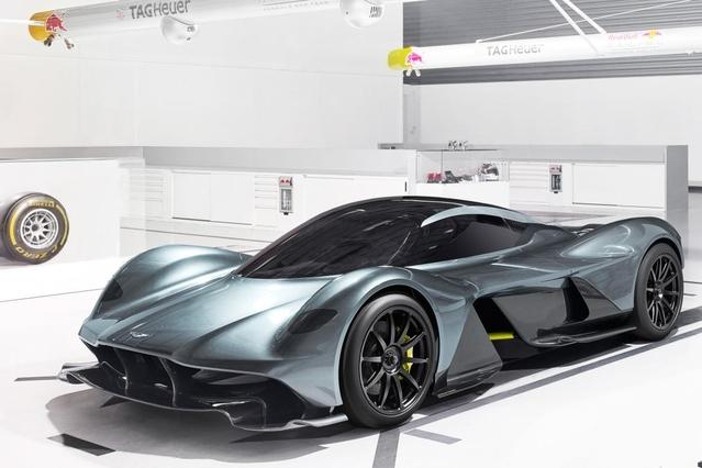 Aston Martin AM-RB 001: de nouvelles informations techniques