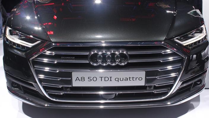 Audi A8 : la meilleure ? - Vidéo en direct du salon de Francfort 2017