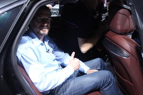 J'aime la façon dont les passagers arrière sont choyés, comme dans un cocon. Il n'y a plus qu'à se laisser conduire.