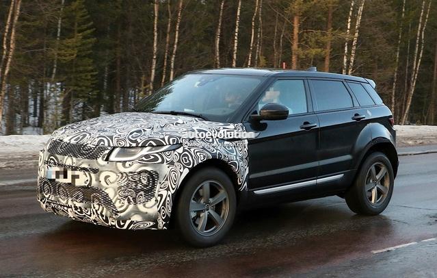 Scoop : le Range Rover Evoque 2 prend la route