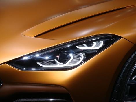 BMW Z4 Concept: réorientation – Vidéo en direct du Salon de Francfort 2017