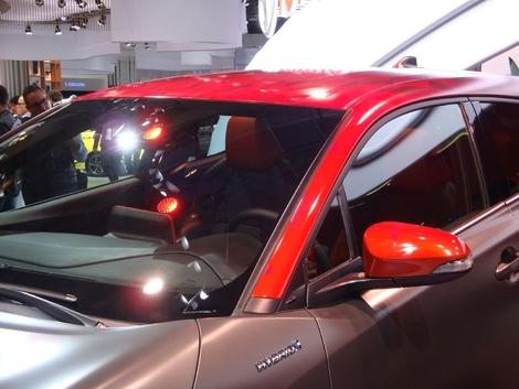 Toyota C-HR Hy-Power: maquillage - En direct du Salon de Francfort 2017