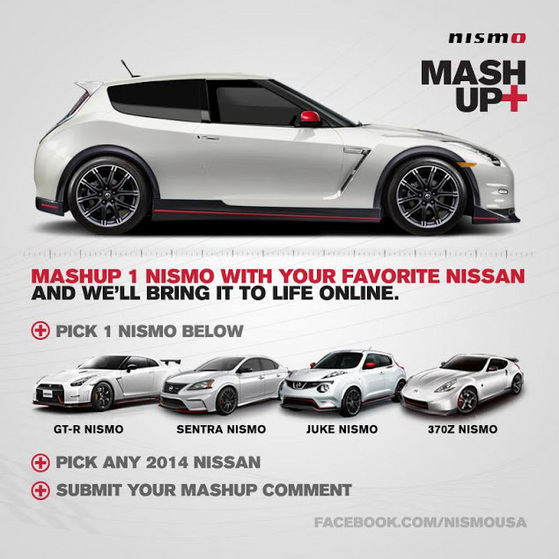 Nissan s'amuse: voici une Leaf GT-R ou une GT-R Leaf!