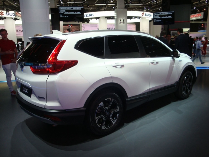 Honda CR-V Prototype : diesel free – En direct du Salon de Francfort 2017