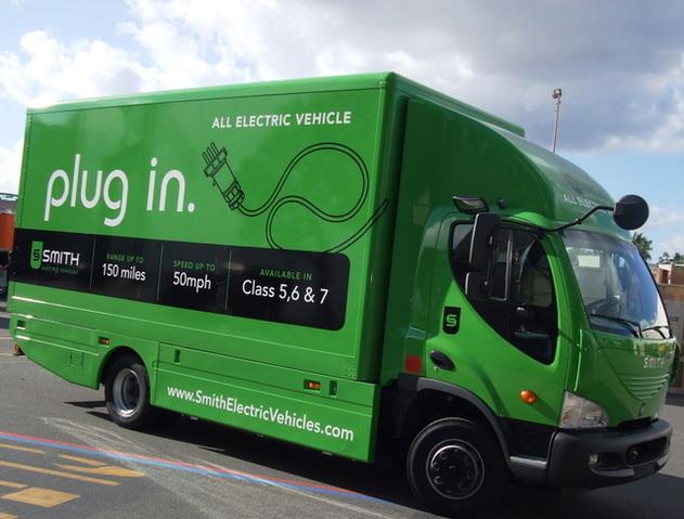Smith Electric Vehicles : après l'Europe, lancement de son plus gros camion électrique aux Etats-Unis
