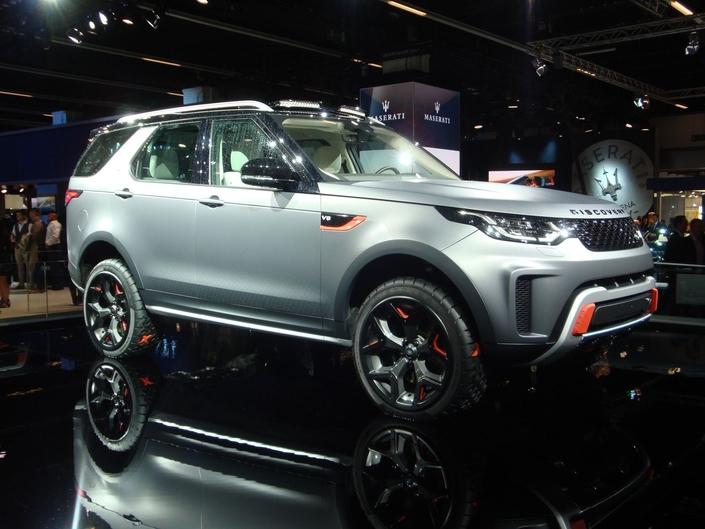 Land Rover Discovery SVX: ne m'oubliez pas – En direct du Salon de Francfort 2017