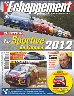 Le duo Toyota GT86/Subaru BRZ élu sportive de l'année 2012 Echappement