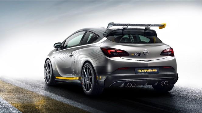 Toutes les nouveautés du salon de Genève 2014 - L'Opel Astra OPC Extreme hésite entre showcar et modèle de route