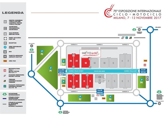 Calendrier : l'Eicma 2017 à Milan