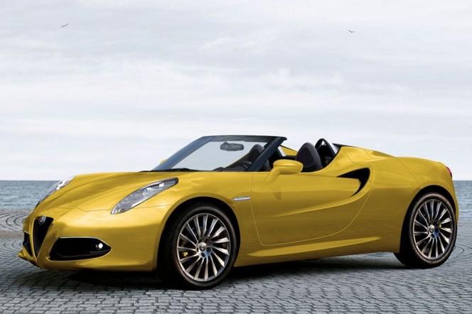 Genève 2014 : un concept d'Alfa Romeo 4C Spider attendu ?