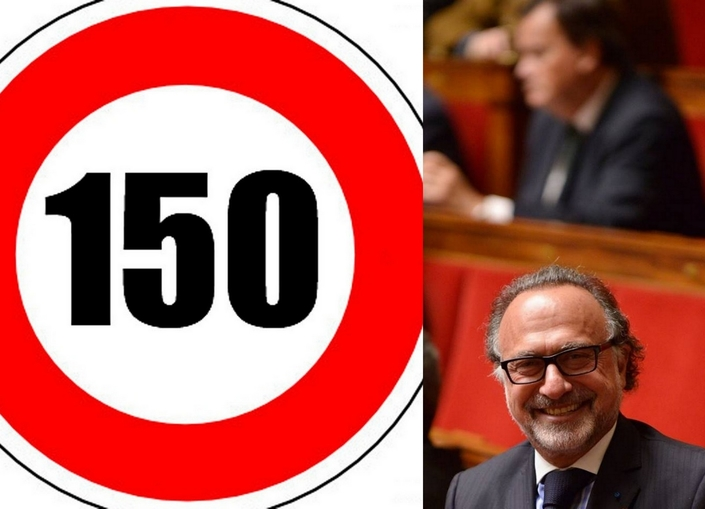 150 km/h sur autoroute: l'incroyable proposition de loi