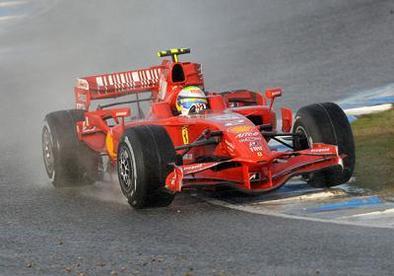 Formule 1 - Test Barcelone D.2: Massa et toujours la pluie