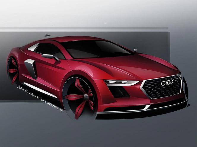 La future Audi R8 conservera ses moteurs atmosphériques