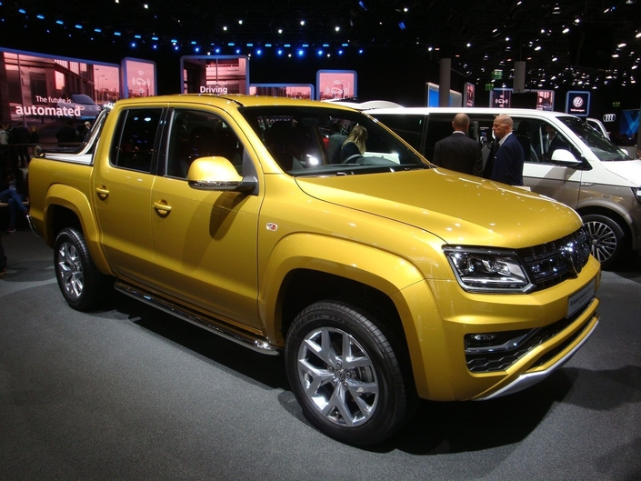 Volkswagen Amarok Aventura Exclusive : monsieur muscles – En direct du Salon de Francfort 2017