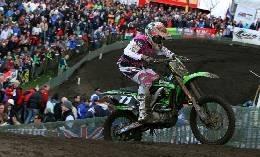Mx 2 à Valkenswaard : Peu de point pour le team Kawasaki Molson