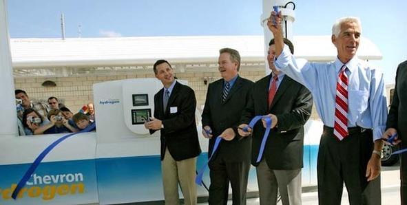 État de Floride : FORD et BP ouvrent la deuxième station d'hydrogène