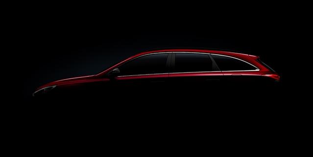 Salon de Genève 2017 : un teaser pour la nouvelle Hyundai i30 break