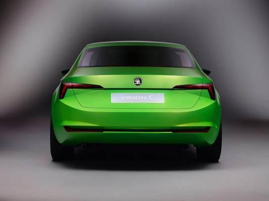 Toutes les nouveautés du salon de Genève 2014 - Skoda concept Vision C: un futur coupé 5 portes