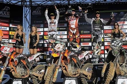 Motocross mondial : GP du Brésil, Herlings vainqueur à égalité de points avec Roczen.