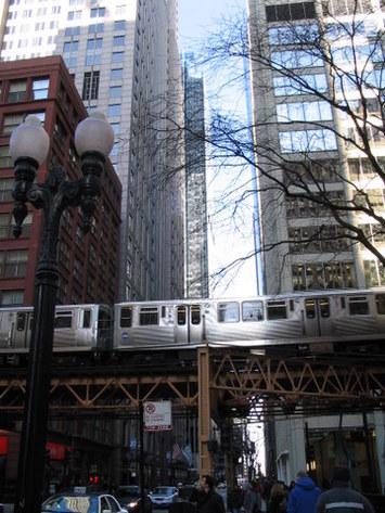 Chicago : les transports en commun, alternative à la voiture, commencent à se faire vieux...