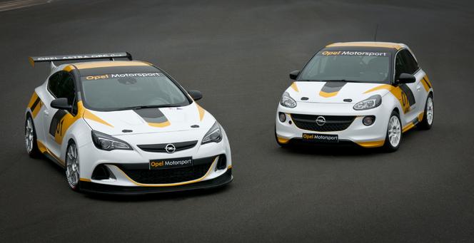 Opel revient en sport automobile avec l'Adam Cup et l'Astra OPC Cup