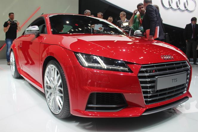 Vidéo en direct de Genève 2014 - Audi TT, plus léger, plus puissant