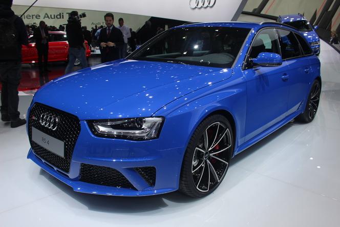 En direct de Genève 2014 - Audi RS4 Nogaro Selection, la RS2 du 21e siècle ?