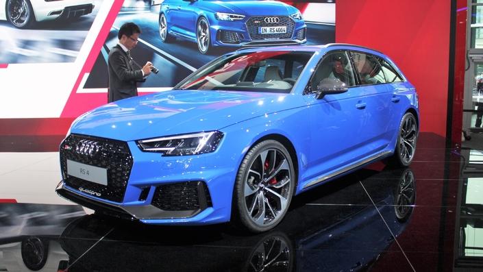 Audi RS4 Avant : retour aux sources - Vidéo en direct du salon de Francfort 2017