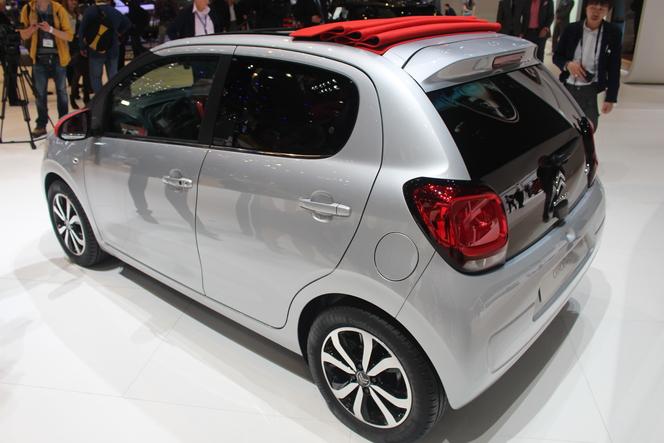 Vidéo en direct de Genève 2014 - Citroën C1, concentré de chevrons