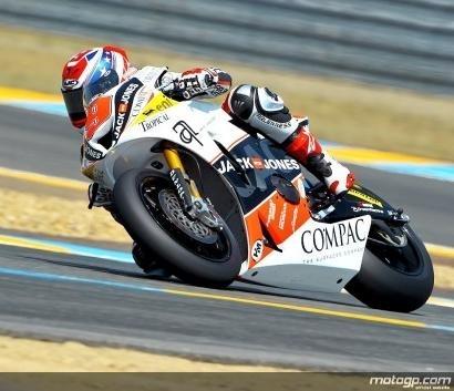 Moto 2 - France Qualification: Kenny Noyes pour une pole historique