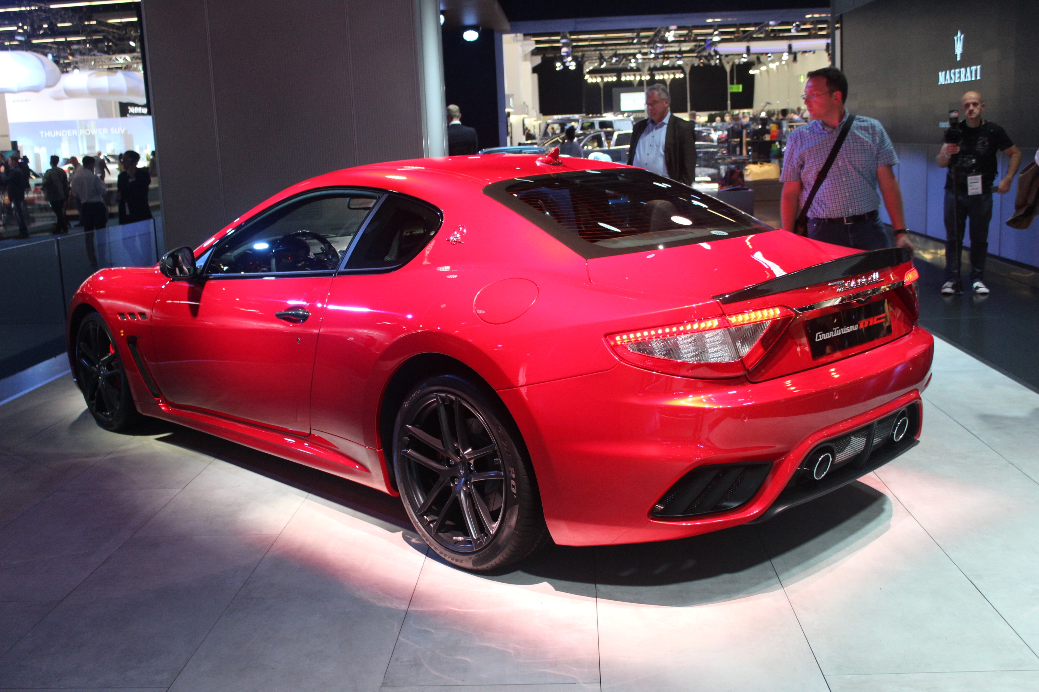 maserati granturismo restyl e vraiment en direct du salon de francfort 2017. Black Bedroom Furniture Sets. Home Design Ideas