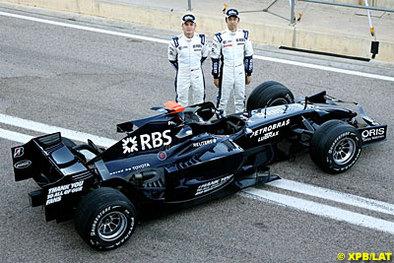 Formule 1 - Test Barcelone D.3: Nakajima sous le soleil