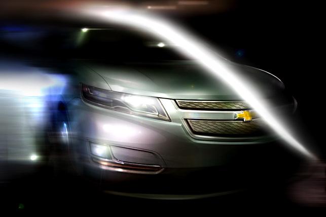 General Motors : un nouveau studio de design pour la Chevrolet Volt Concept