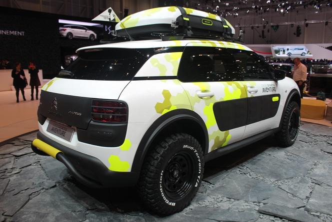 Vidéo en direct de Genève 2014 - Citroën C4 Cactus Aventure, too much
