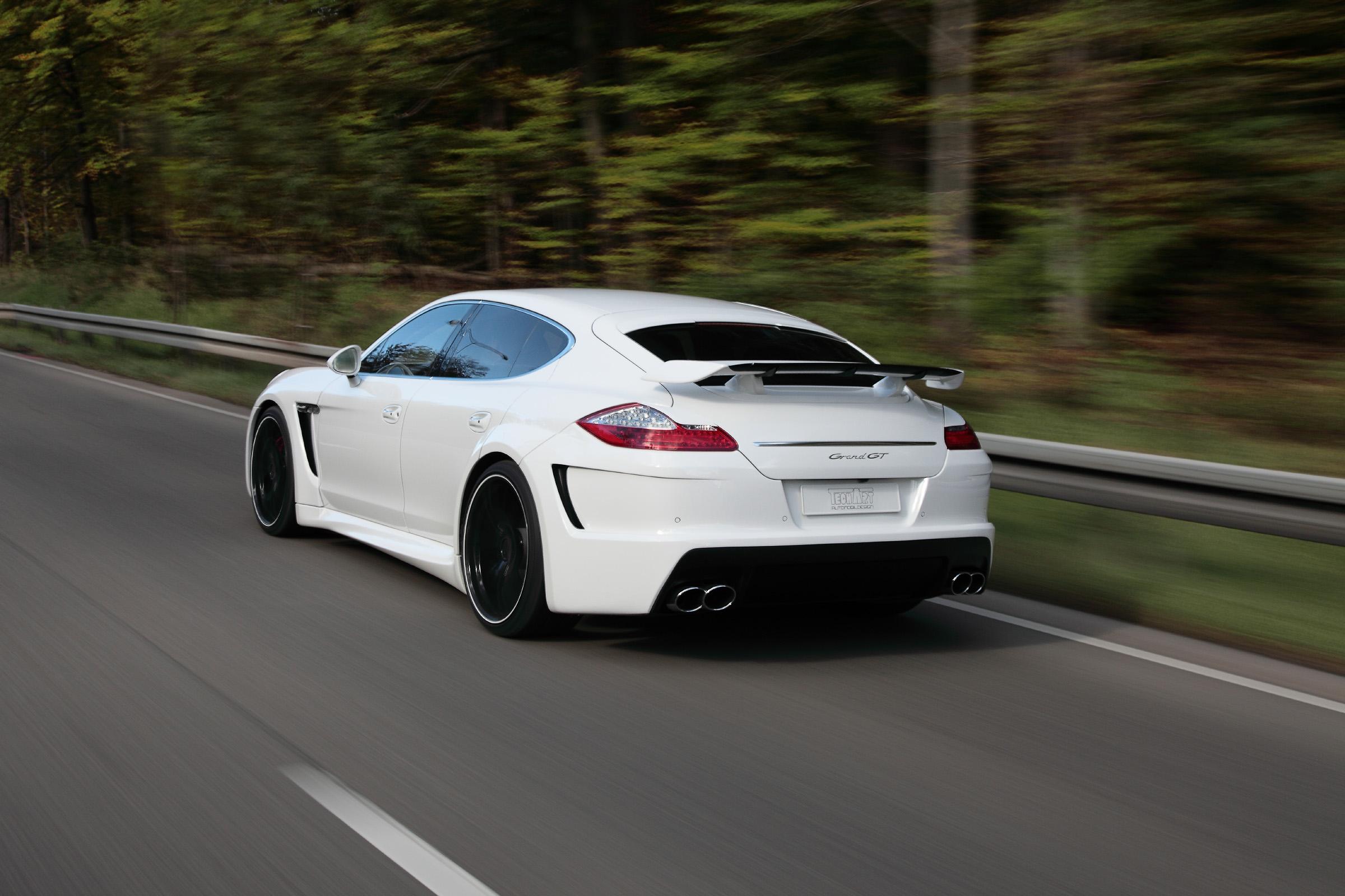 Porsche Techart Panamera Grandgt Grosse Voyageuse