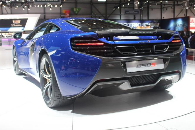 Vidéo en direct de Genève 2014 - McLaren 650 S Coupé, mi-12C, mi-P1