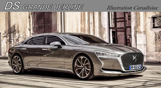 DS: une grande berline pour 2019