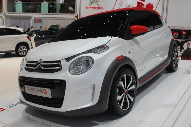 En direct de Genève 2014 - Citroën C1 Swiss & Me Concept : un exemple de personnalisation