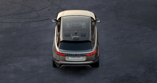 Salon de Genève 2017 - Range Rover Velar: première photo officielle