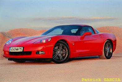 Galerie Photos :Corvette C6 2008 (30 photos HD)