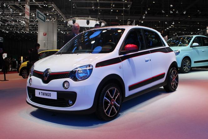 Vidéo en direct de Genève 2014 - Renault Twingo : sympathique