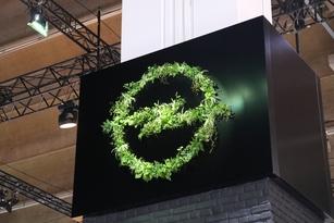 C'est du jamais vu à ce jour, un logo tout en feuilles, et c'est chez Opel qu'on le trouve.