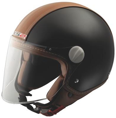 Jet LS2 Beetle: j'veux du cuir.