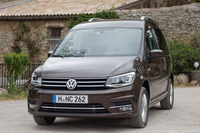 Le Volkswagen Caddy arrive en concession : gros contenu technologique